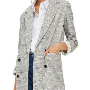 NWT Topshop Slouch Coat